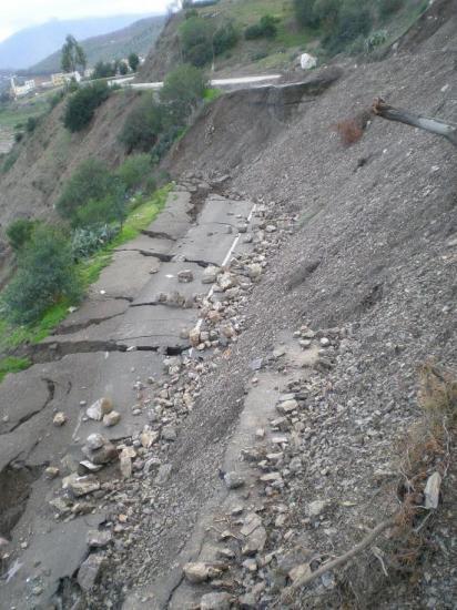 Etat des routes à Taza