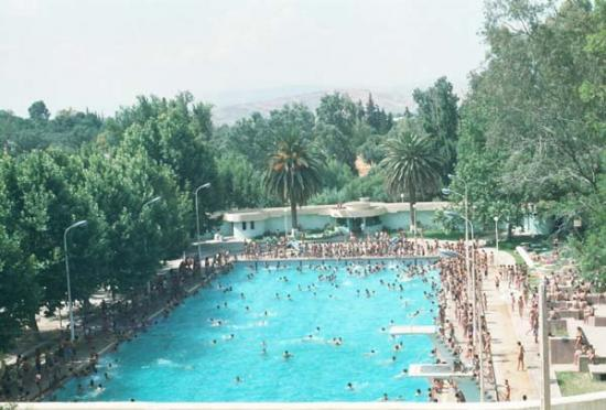 La piscine de taza for Piscine demontable maroc