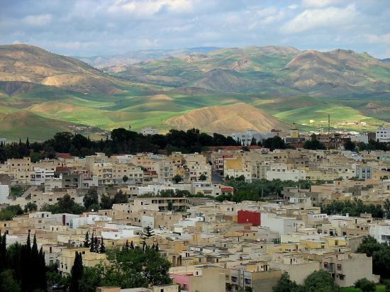 Taza Bas vue de Boukallal