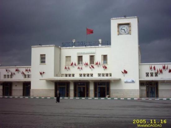La gare de Taza