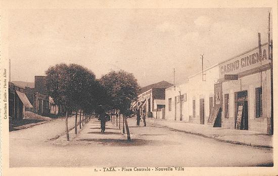 Place centrale - Ville nouvelle