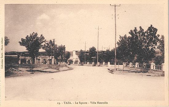 La square - Ville nouvelle