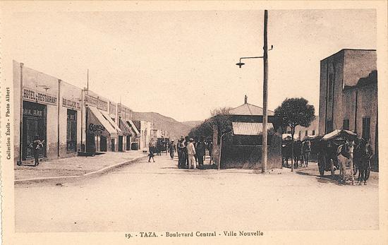 Boulevard central - Ville nouvelle
