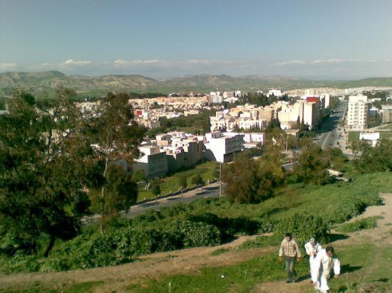 Vue de Taza haut