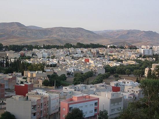 Vue de la ville nouvelle